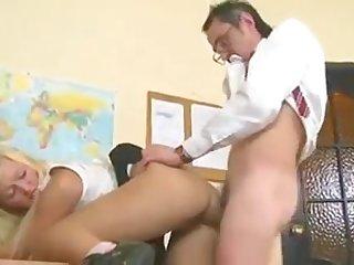 Old teacher fuck schoolgirl
